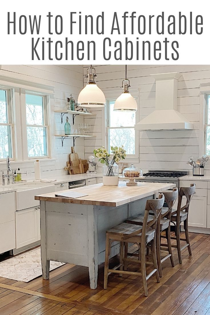 How I Remodeled Our Waco Kitchen On A Budget My 100 Year Old Home In 2020 Affordable Kitchen Cabinets Kitchen Remodel Small Full Kitchen Remodel