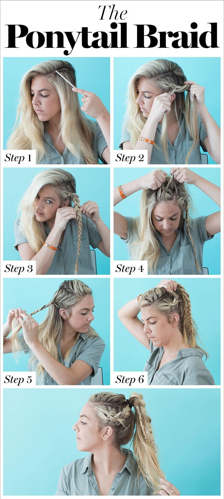 10 Cool Braids You Can Actually Do On Yourself Braiding Your Own Hair Cool Braids Thick Hair Styles