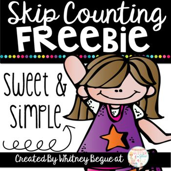 Skip Counting Worksheets-Sweet and Simple