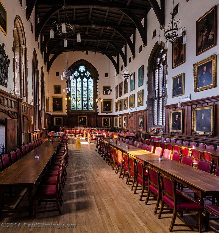 The Great Hall of Durham Castle - Durham, England, UK