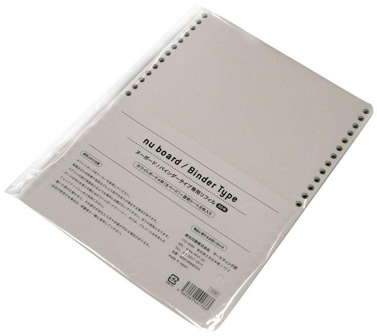 Amazon.co.jp: CANSAY nu board (ヌーボード) A5判 バインダータイプ専用リフィル NRA5WNW804: 文房具・オフィス用品