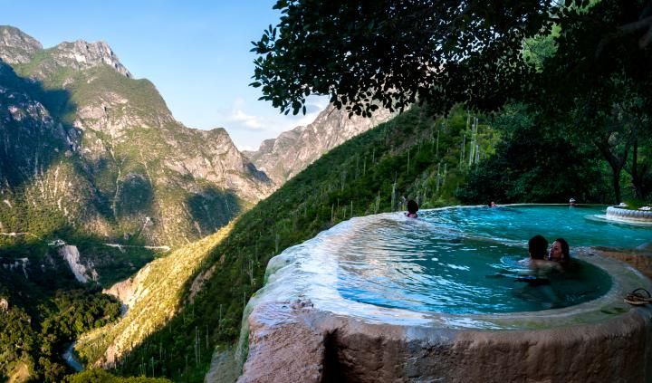 These Mexican Hot Springs Are Heated by Volcanic Mountains | Time.com