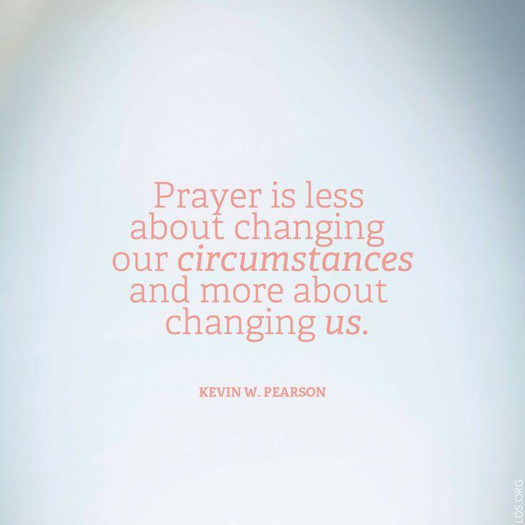 When we struggle with prayer, we struggle spiritually. Improve your personal prayers. #LDS