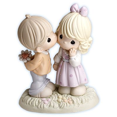 Your Love Makes My Heart Blossom Precious Moments Figurine