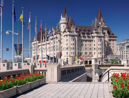 The Fairmont Chateau Laurier, Landmark Hotel In Downtown Ottawa ...