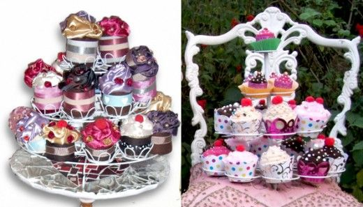 Fabric Cupcakes | The Perfect Day
