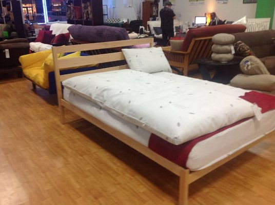 shuffle maple platform bed the futon shop los angeles 10865 w pico blvd - Bed Frames Los Angeles