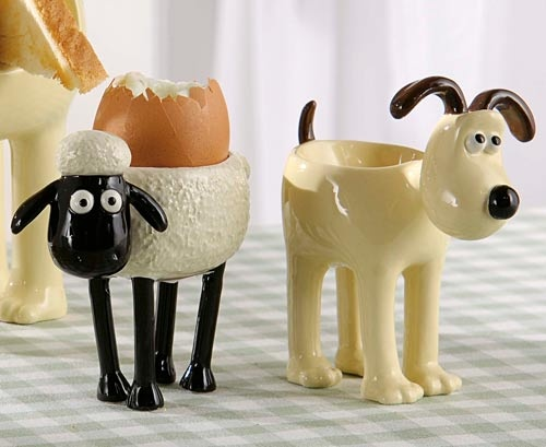 Love these. Grommit and Shaun
