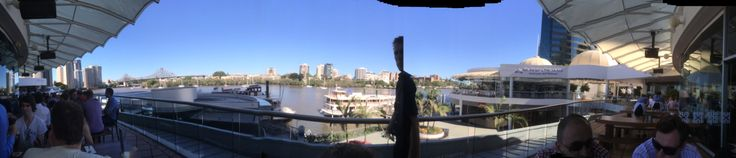 Isn't Brisbane amazing! #dinner #view #ifactory #digital #agency #christmas #party #river #storeybridge #festive
