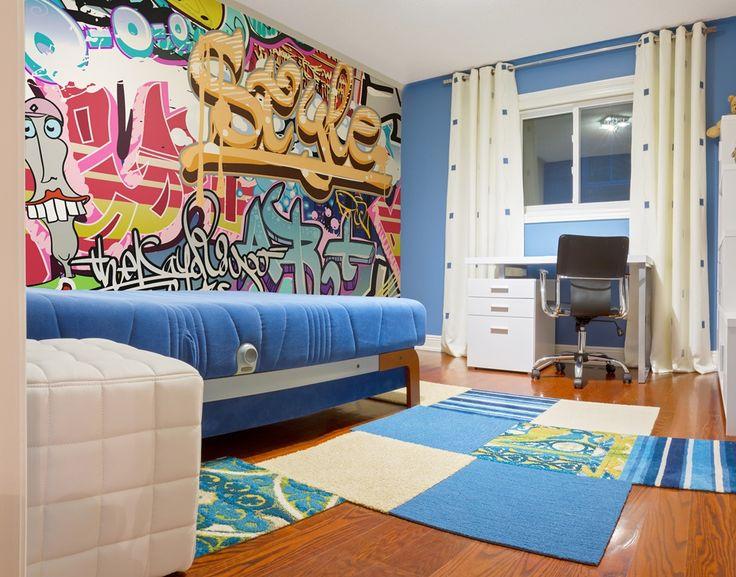 Fototapeta deKEA graffiti idealna do pokoju młodziezowego