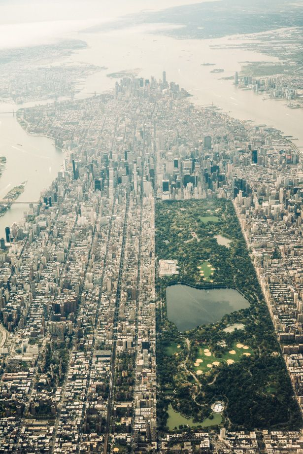 "Manhattan as it was from the window of an airplane - F. Scott Fitzgerald's ""My Lost City"""