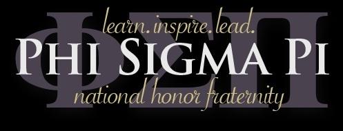 Phi Sigma Pi. Learn. Inspire. Lead.