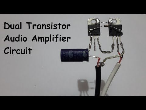 How to build a simple 12v speaker circuit without using ic, 3