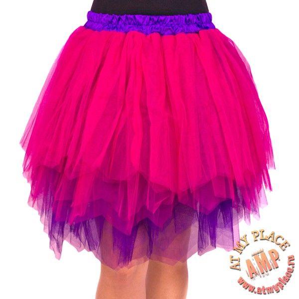 pink and violet skirt tutu