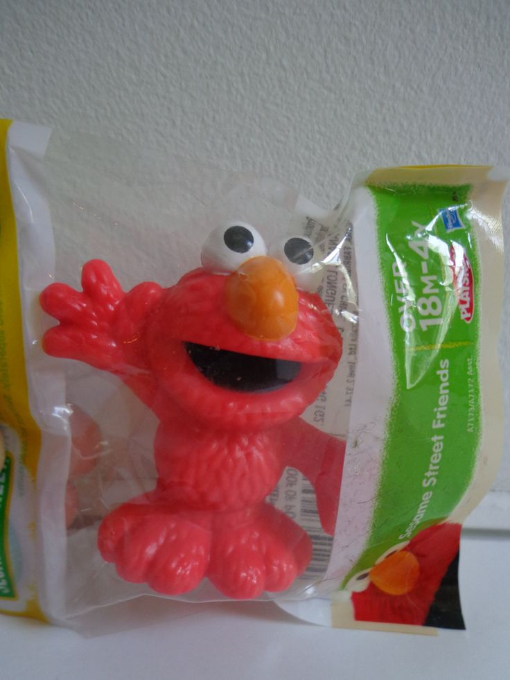 Collectible Sesame Street Playskool Elmo Toy Novelty Cake Topper Decoration, Mini Figure New in Package by PopWildlife on Etsy