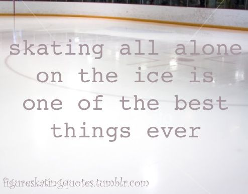 my rink is always far too busy for me to appreciate this >:(