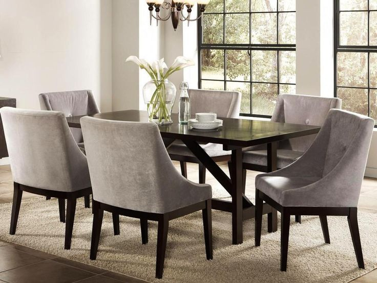 25+ Best Ideas About Upholstered Dining Room Chairs On