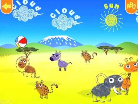 Kido Magic Finger - A Cute and Original Animal App to Learn the ABC - Review - Fun Educational Apps for Kids - http://www.funeducationalapps.com/2015/03/kido-magic-finger-a-cute-animal-app-to-learn-the-abc.html