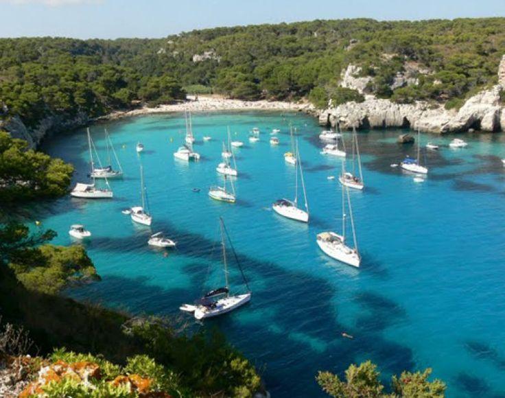Si te alojas en ILUNION Menorca, podrás disfrutar de este maravilloso paisaje.  #menorca #todoincluido http://www.ilunionmenorca.com/