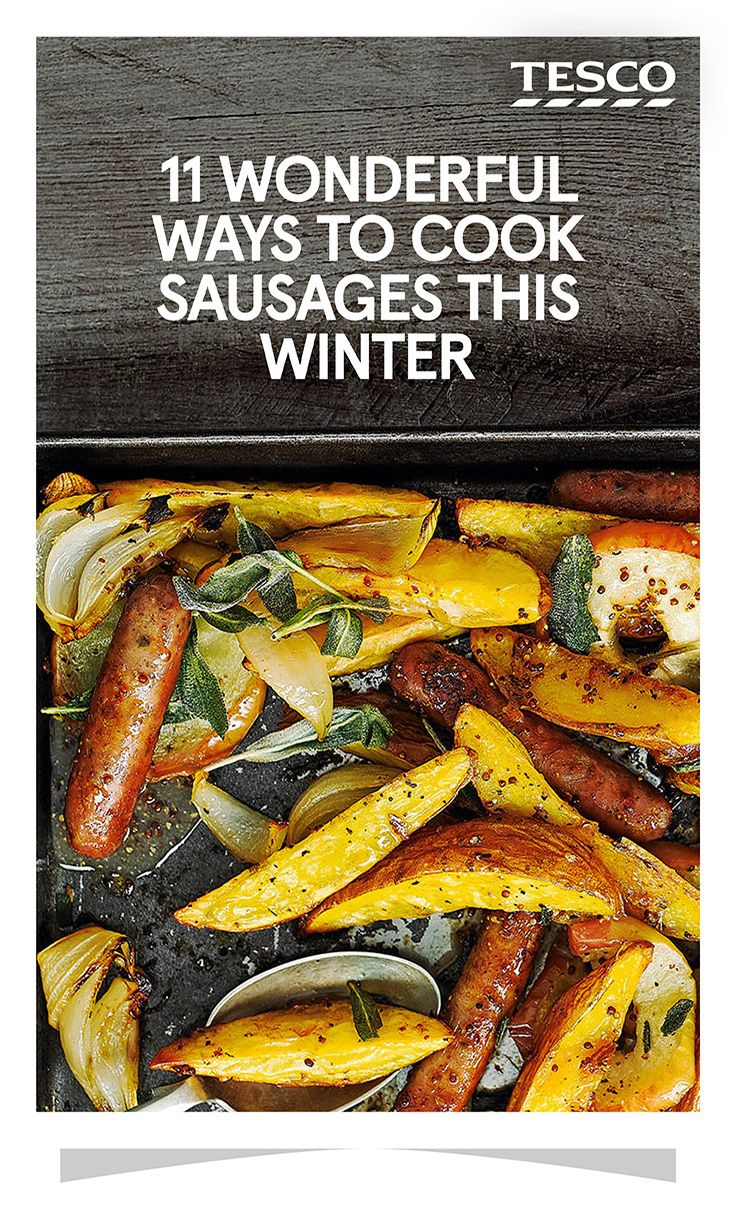 Whether you've invited everyone round for brunch or you're looking for a hangover brekkie, some tasty sausages will really hit the spot | Tesco