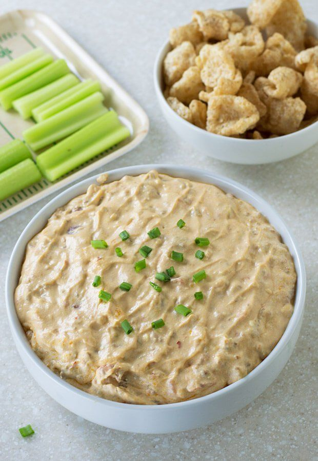 Spicy Sausage Cheese Dip   Ruled Me