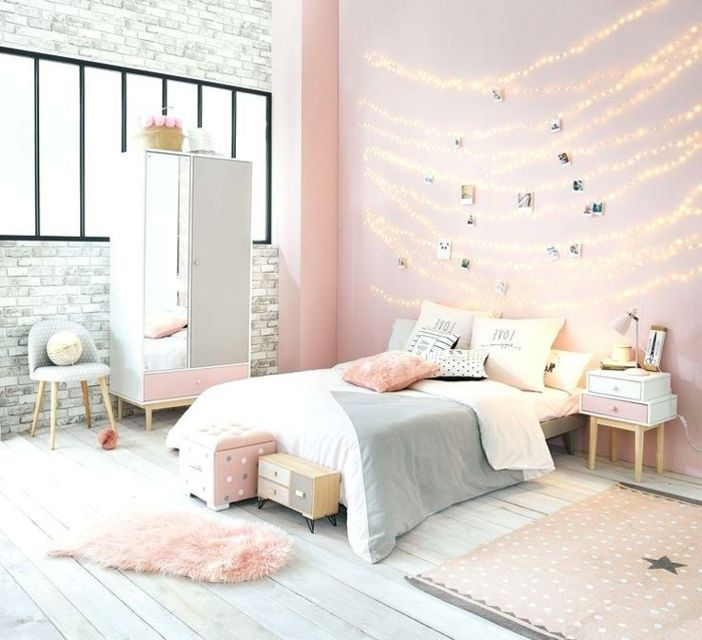22 Cool Room Ideas For Teens In 2020 Pink And Grey Room Pink Bedroom Decor Pink Bedrooms