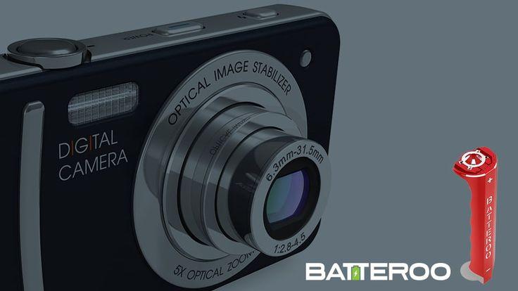 Batteroo   Testing Series with Vivitar Digital Camera