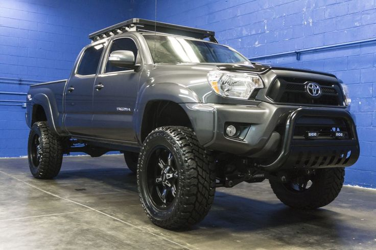 Fully Custom Lifted 2013 Toyota Tacoma TRD Sport 4x4 Truck For Sale At Northwest Motorsport