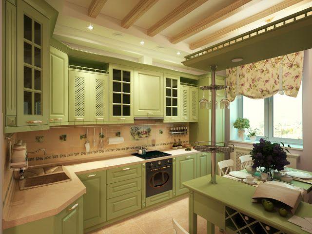 Кухня в стиле прованс: 6 особенностей | Sweet home