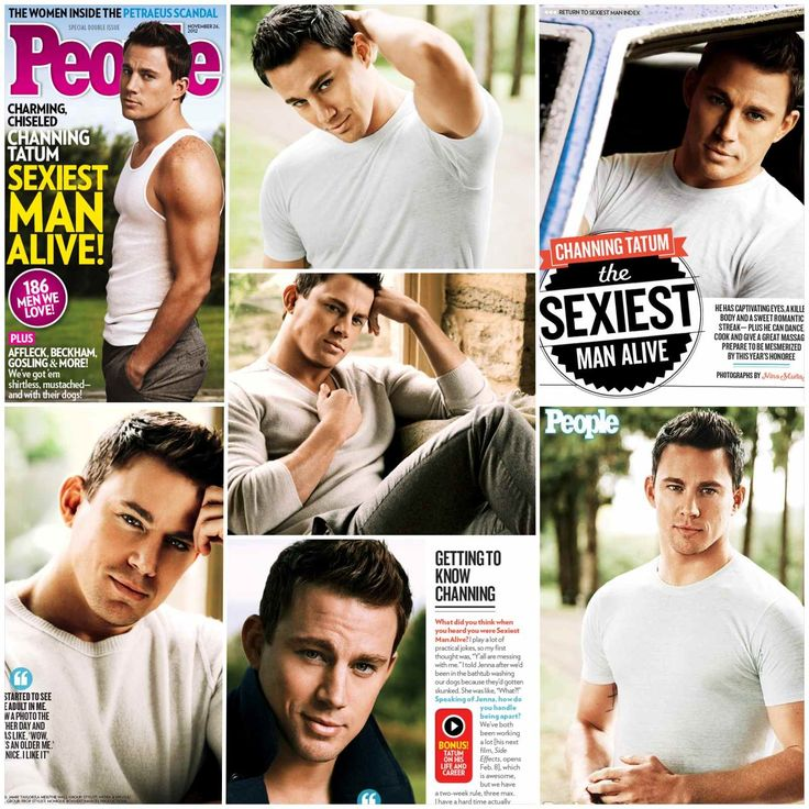 Channing Tatum...People Magazine's Sexiest Man Alive