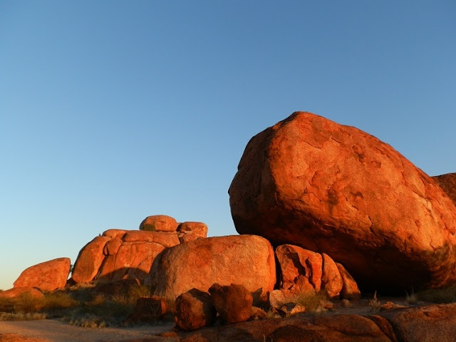 Sunset at the Devils Marbles, Central #Australia
