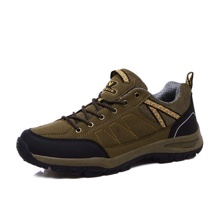 62.36$  Watch now - http://alickp.shopchina.info/go.php?t=32813071316 - 2016 Mens Track Shoes Anti-Slip Men Climbing Shoes Wearable Mens Sport Shoes Walking Sneakers Autumn/Winter Walking Boots Men  #bestbuy