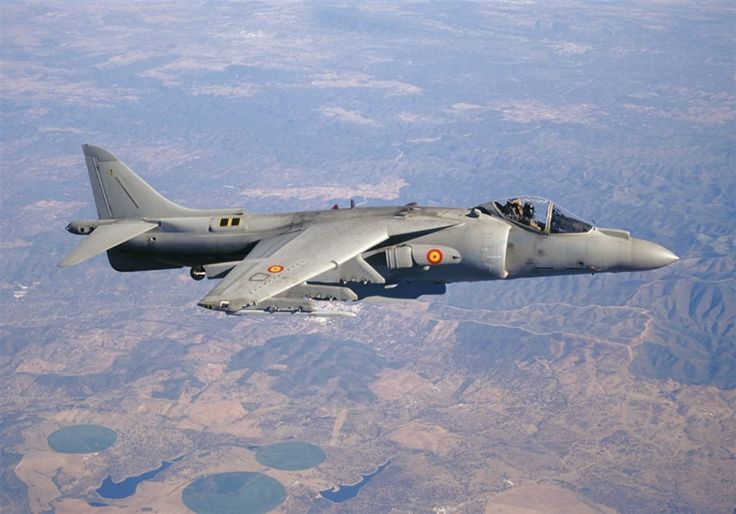 Spanish EAV-8B Harrier II PLus
