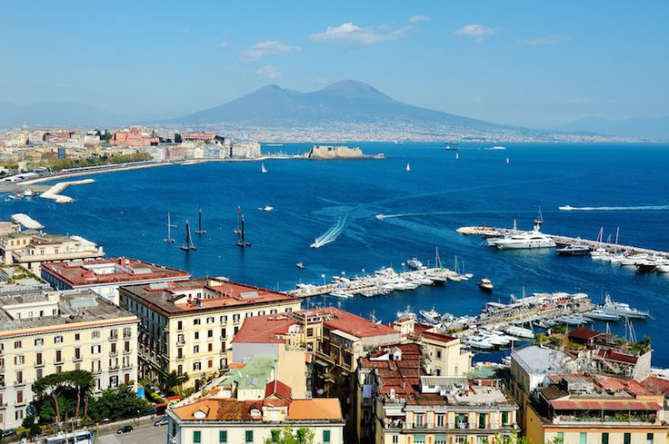 Naples panoramic view with Vesuvius. I. IOU I in.    I. Iu.                N. N. N. N. N. N. N
