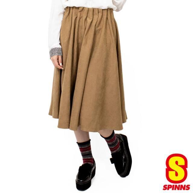 「【14%OFF】ピーチラッピングミディアムスカート レディース スカート」の商品情報やレビューなど。