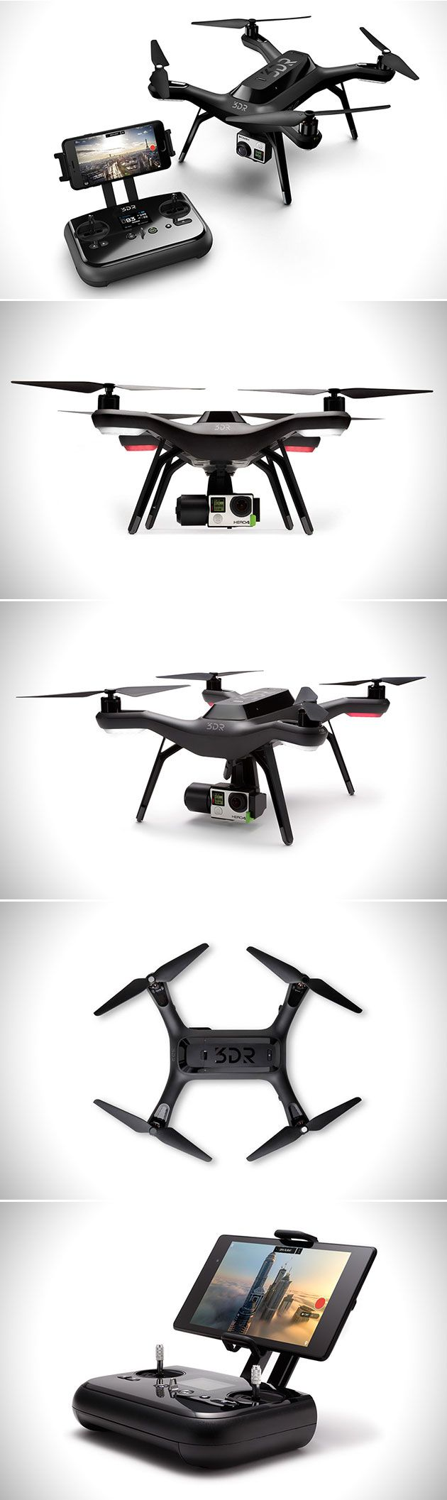 3DR Solo Smart Drone Uses AI to Follow You, Has Gaming-Like Controller ...
