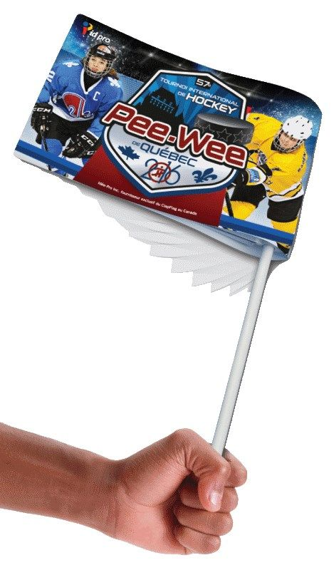Noise Maker Flags. Ramp up the volume with a noise maker flag. This noise maker is perfect for sporting event promotions or political rallies. Grab the flag by the handle, twirl, and, as the flag rotates it makes a glorious noise.