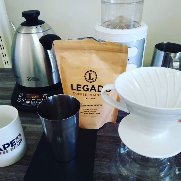 Next up this #drinkitblackfriday - @legadocoffee's Bosque Microlot #twitter #CCBHQ