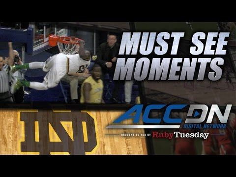 Notre Dame's Jerian Grant Skies for Monster Dunk  | ACC Must See Moment
