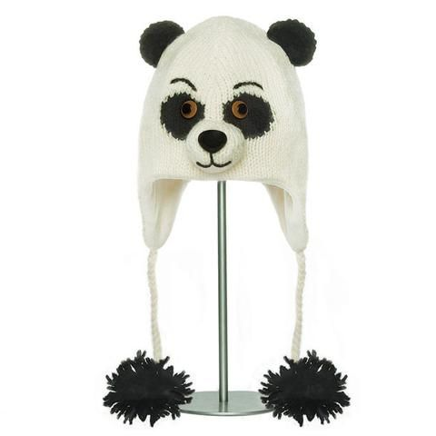 Patches the Panda Animal Hat.   Knitwits, Knit Wits, Animal Hats