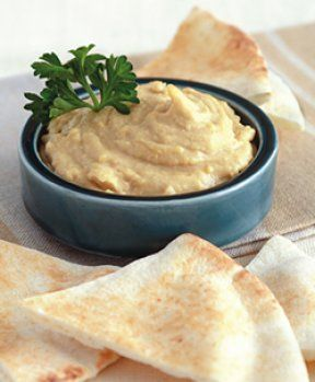 Sesame-Free Hummus - Recipes Article - be sure to slip skins off garbanzo beans - yummy!