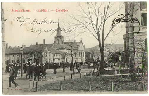 Trondheim, Norway in circa 1908