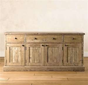 Reclaimed buffet for dining room