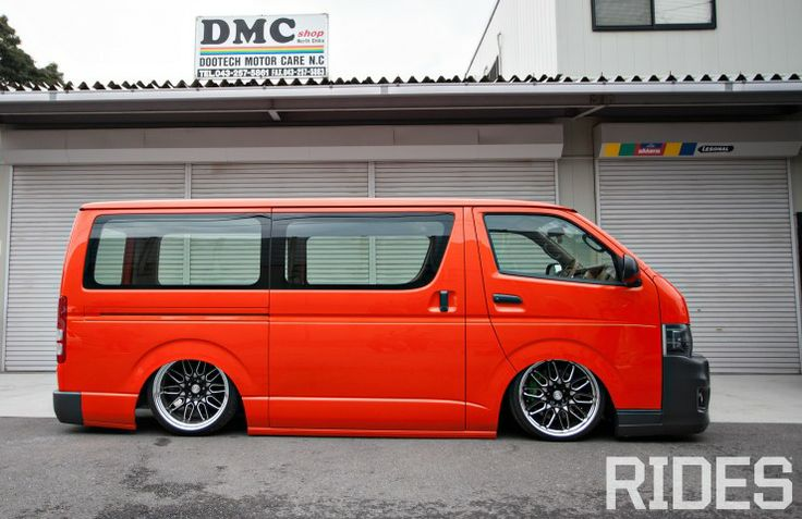 Hiace Tuned & Lowered.