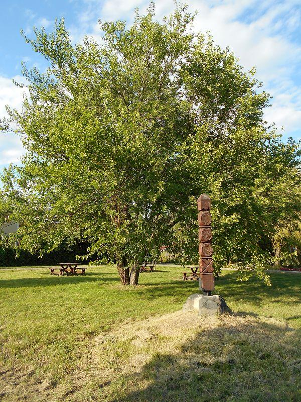 Nándorfehérvári kopjafa (Tapolca) http://www.turabazis.hu/latnivalok_ismerteto_1731 #latnivalo #tapolca #turabazis #hungary #magyarorszag #travel #tura #turista #kirandulas