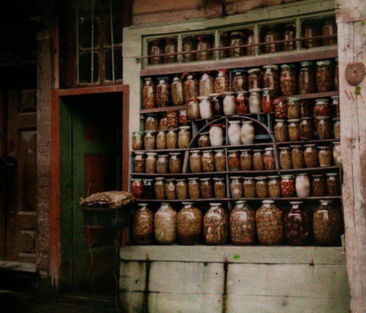 Las alacenas que se utilizaban como despensa tenían las puertas ...