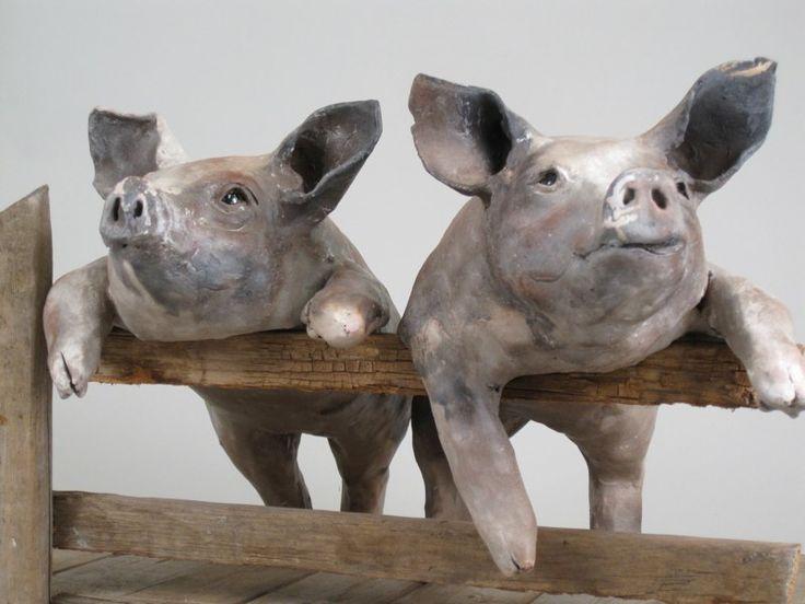 clay sculpture animals - photo #36