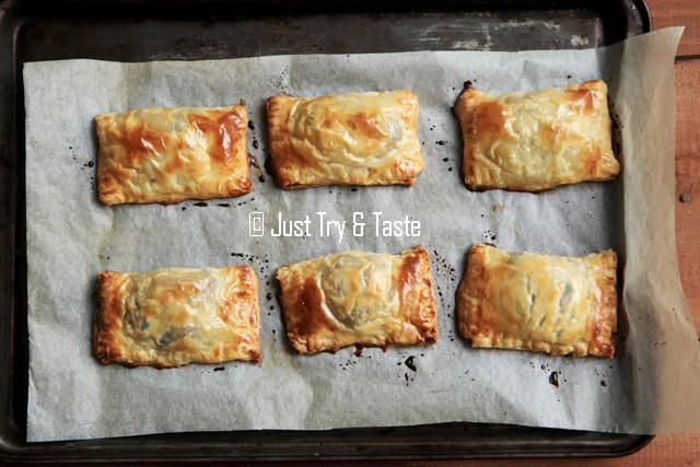 pastel puff pastry isi daging cincang
