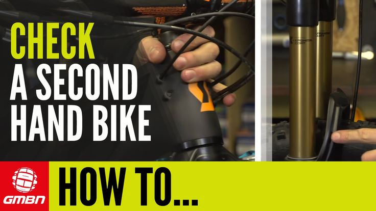How To Check A Second Hand Bike | Essential Mountain Bike Maintenance - VIDEO - http://mountain-bike-review.net/mountain-bikes/how-to-check-a-second-hand-bike-essential-mountain-bike-maintenance-video/ #mountainbike #mountain biking
