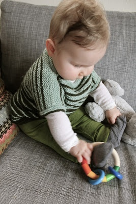 Baby tunic-become top. JUMPER knitting blog